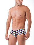 UNICO Swim Brief Playa Tejido MultiColor