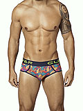 Clever Peace and Love Piping Briefs